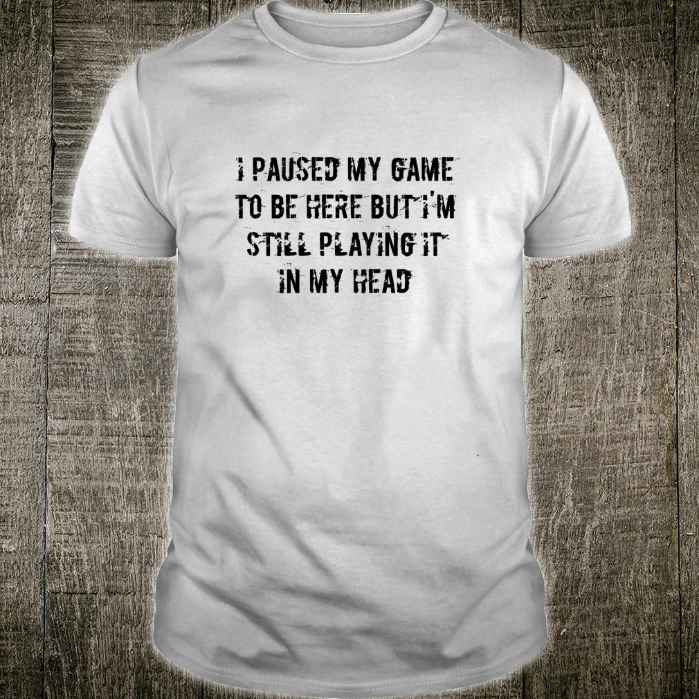 Funny Gamer Shirt
