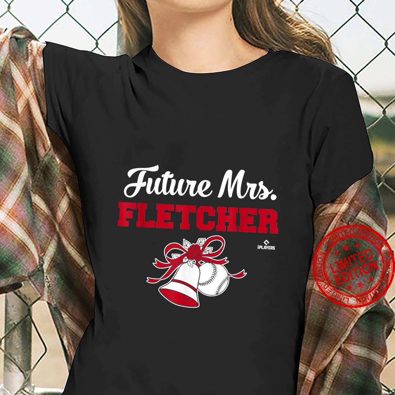 Future Mrs. David Fletcher Sports Apparel Shirt ladies tee