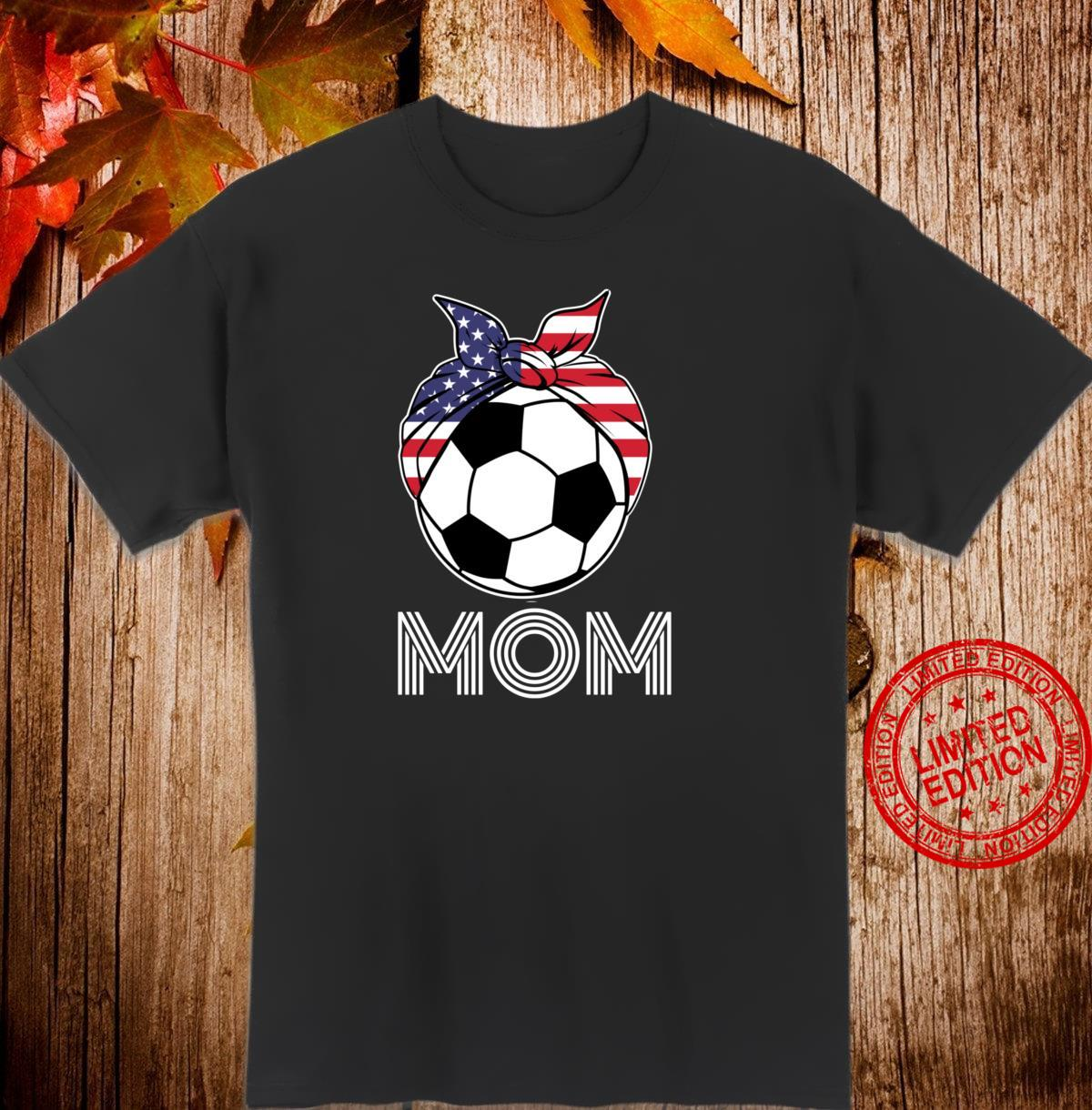 Gift for US Girls Soccer Mom Soccer Players Shirt