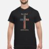 God and Country Cross American Flag Faith US Patriotic Shirt