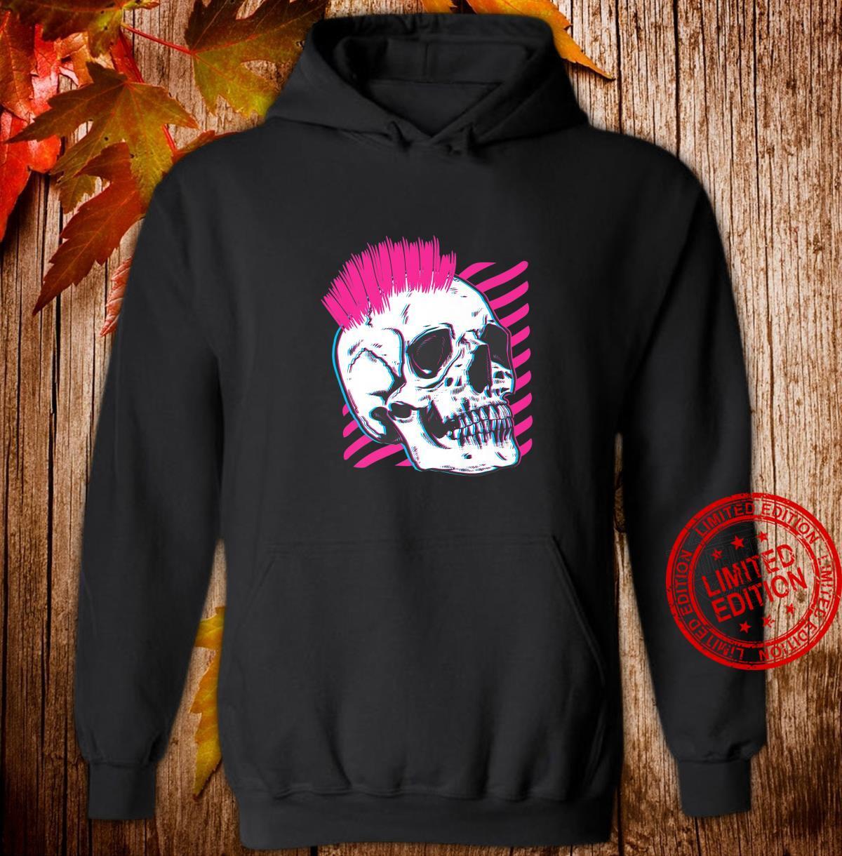 Halloween spooky skull skeleton Shirt hoodie