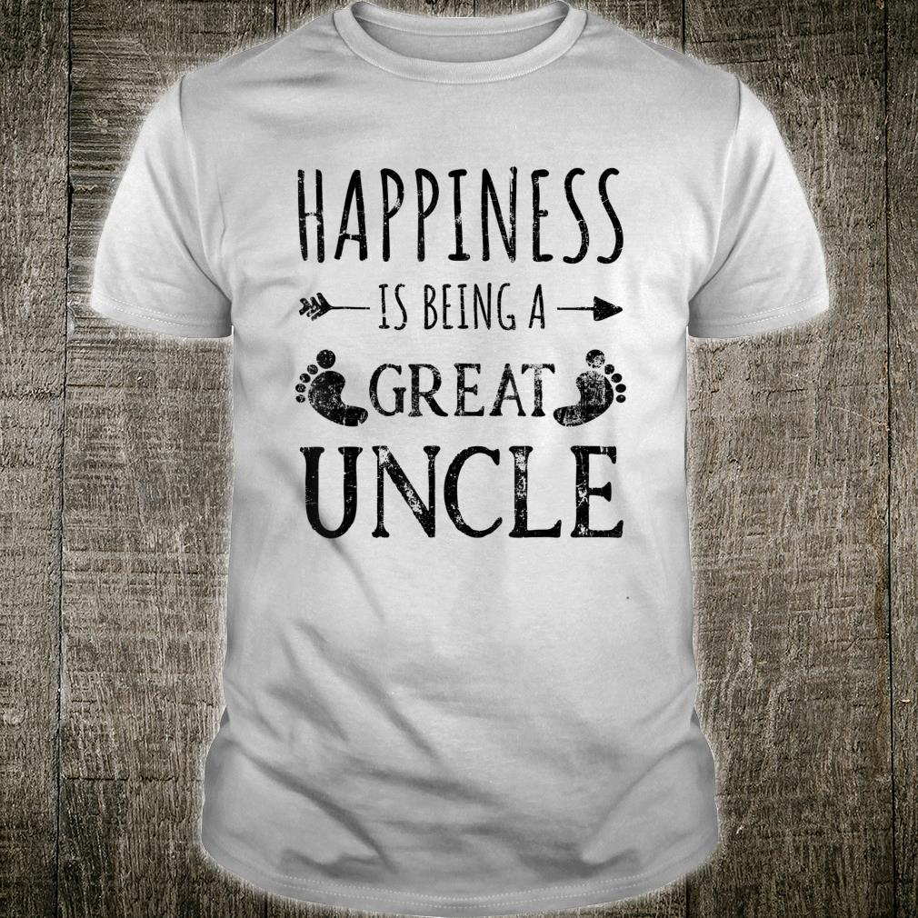Happiness is being a great uncle Shirt