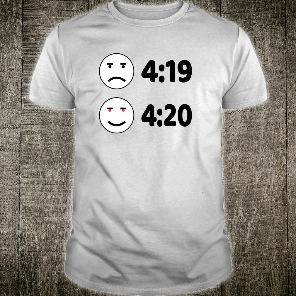Happy 420 Marijuana Bud Dispensary's Pot Shirt
