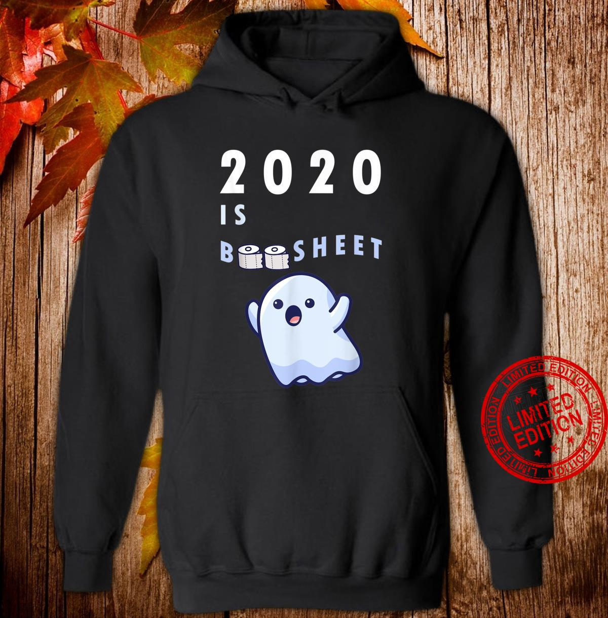 Happy Halloween 2020 Boo Sheet Quarantine Toilet Roll Shirt hoodie