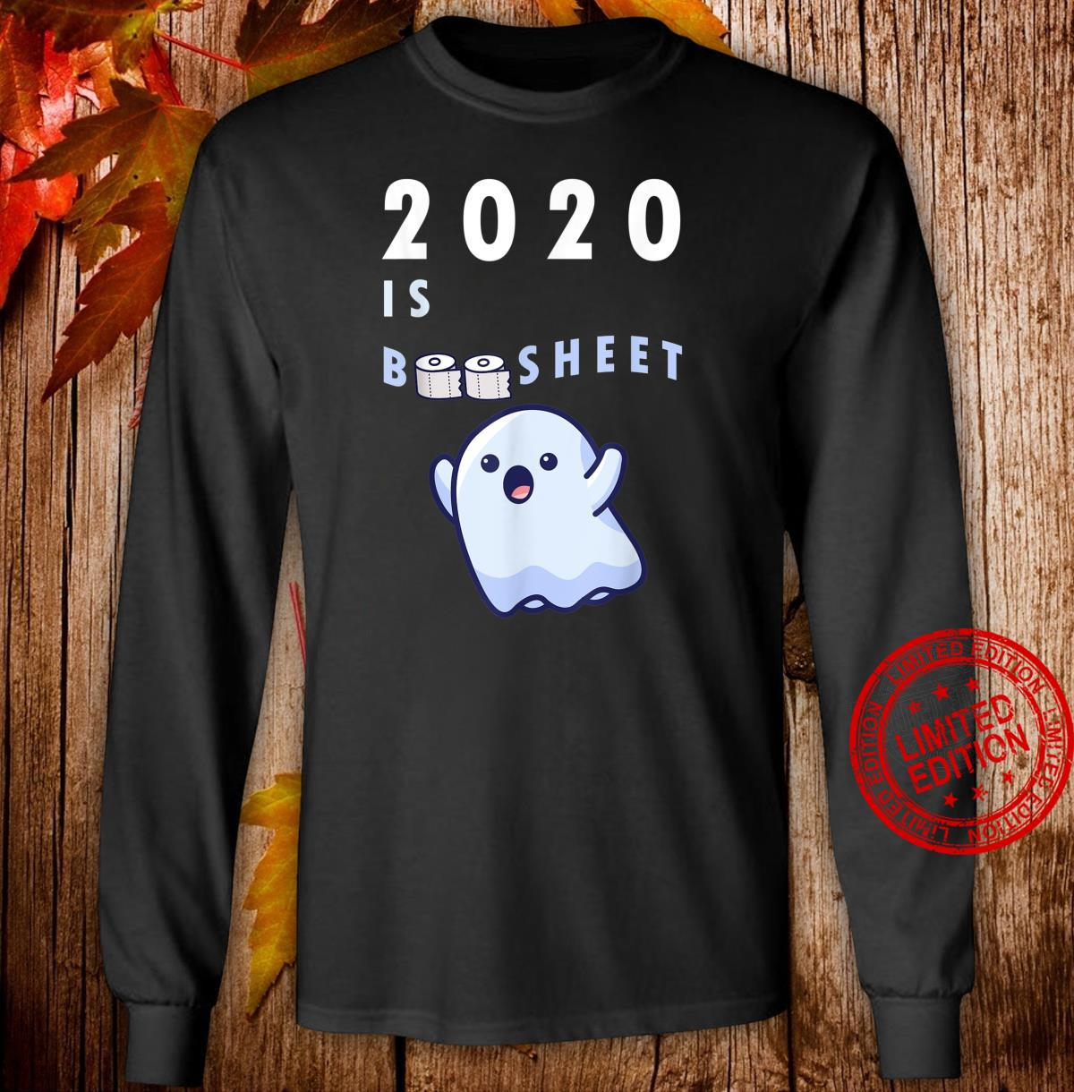 Happy Halloween 2020 Boo Sheet Quarantine Toilet Roll Shirt long sleeved