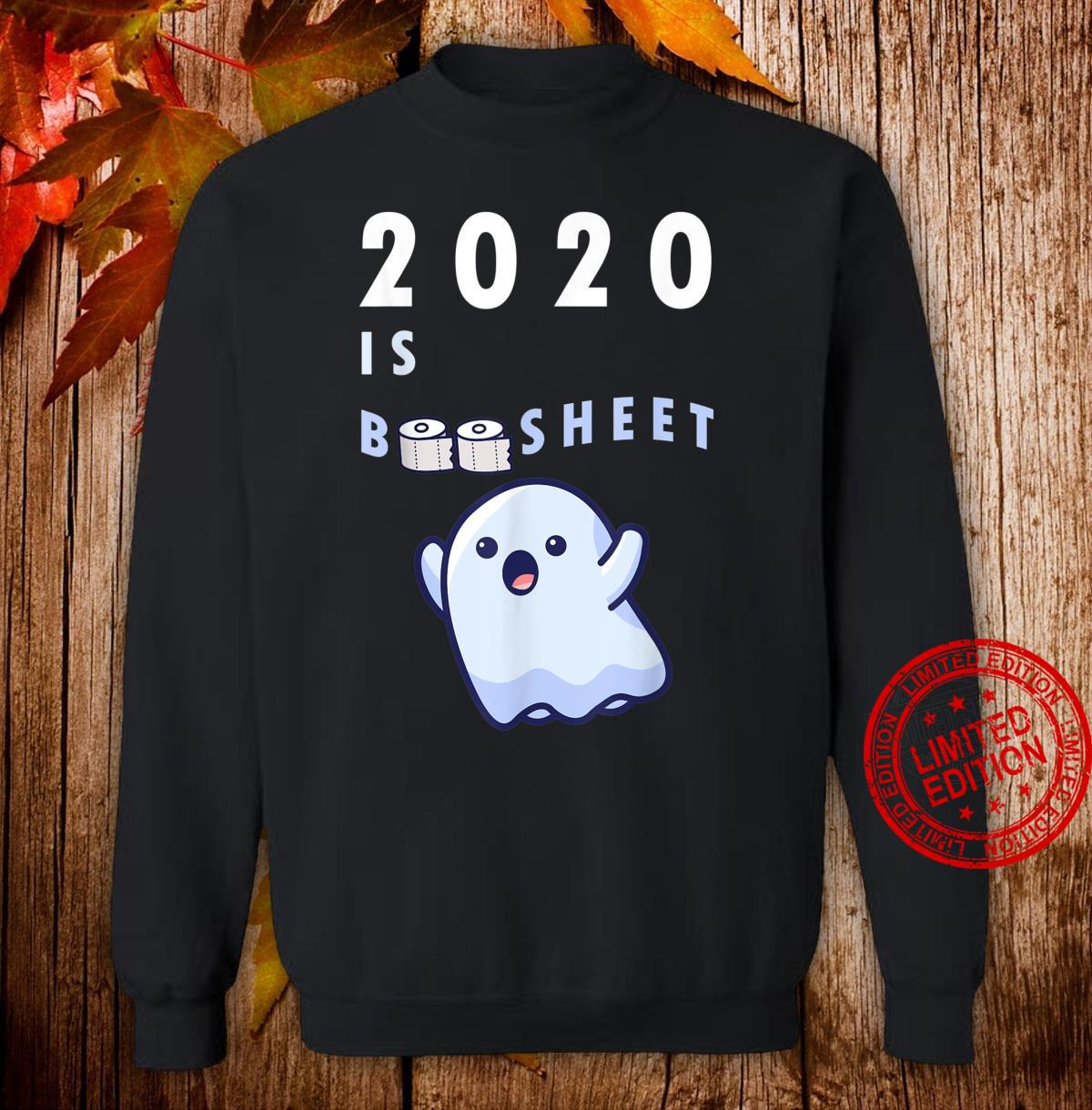 Happy Halloween 2020 Boo Sheet Quarantine Toilet Roll Shirt sweater