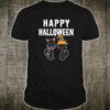 Happy Halloween Black Cat Witch Scary Costume Shirt