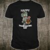 Happy Thanksgiving Day Zombie Shirt