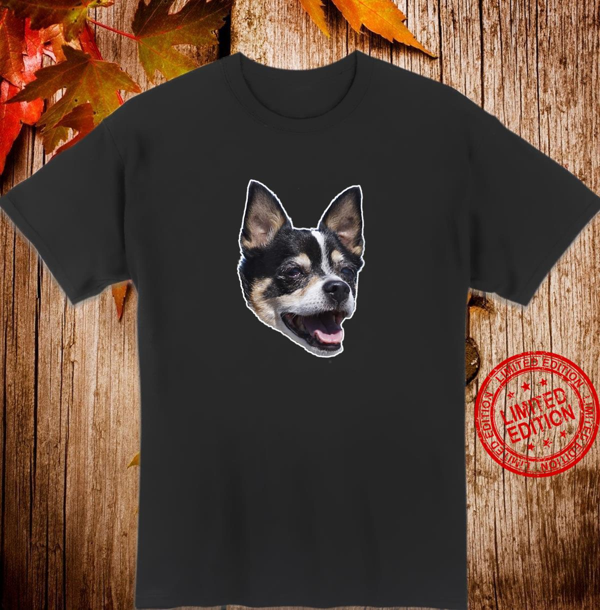 Happy TriColored Chihuahua Dog Smiling Shirt