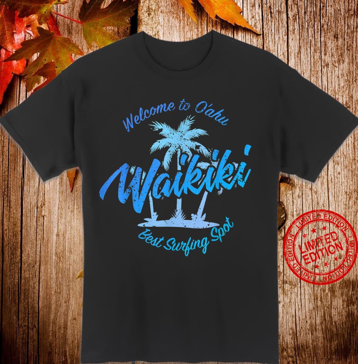 Hawaii Waikiki Vintage Shirt