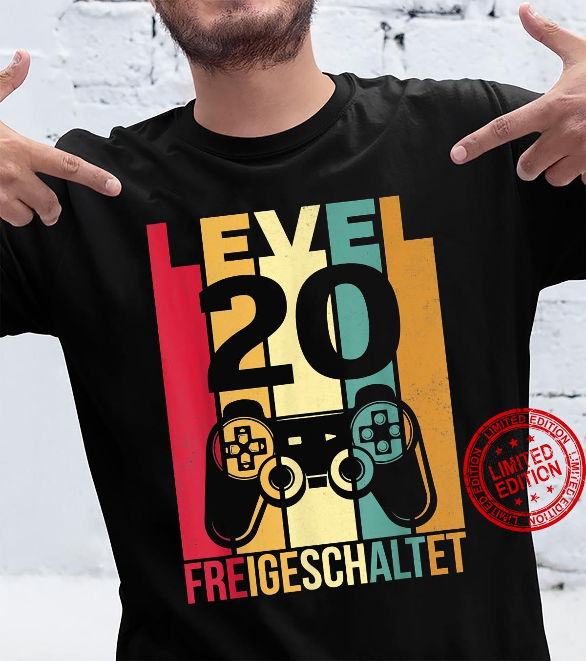 Herren Geschenk 20 Geburtstag Mann Geschenkidee 20er Geburtstag Shirt