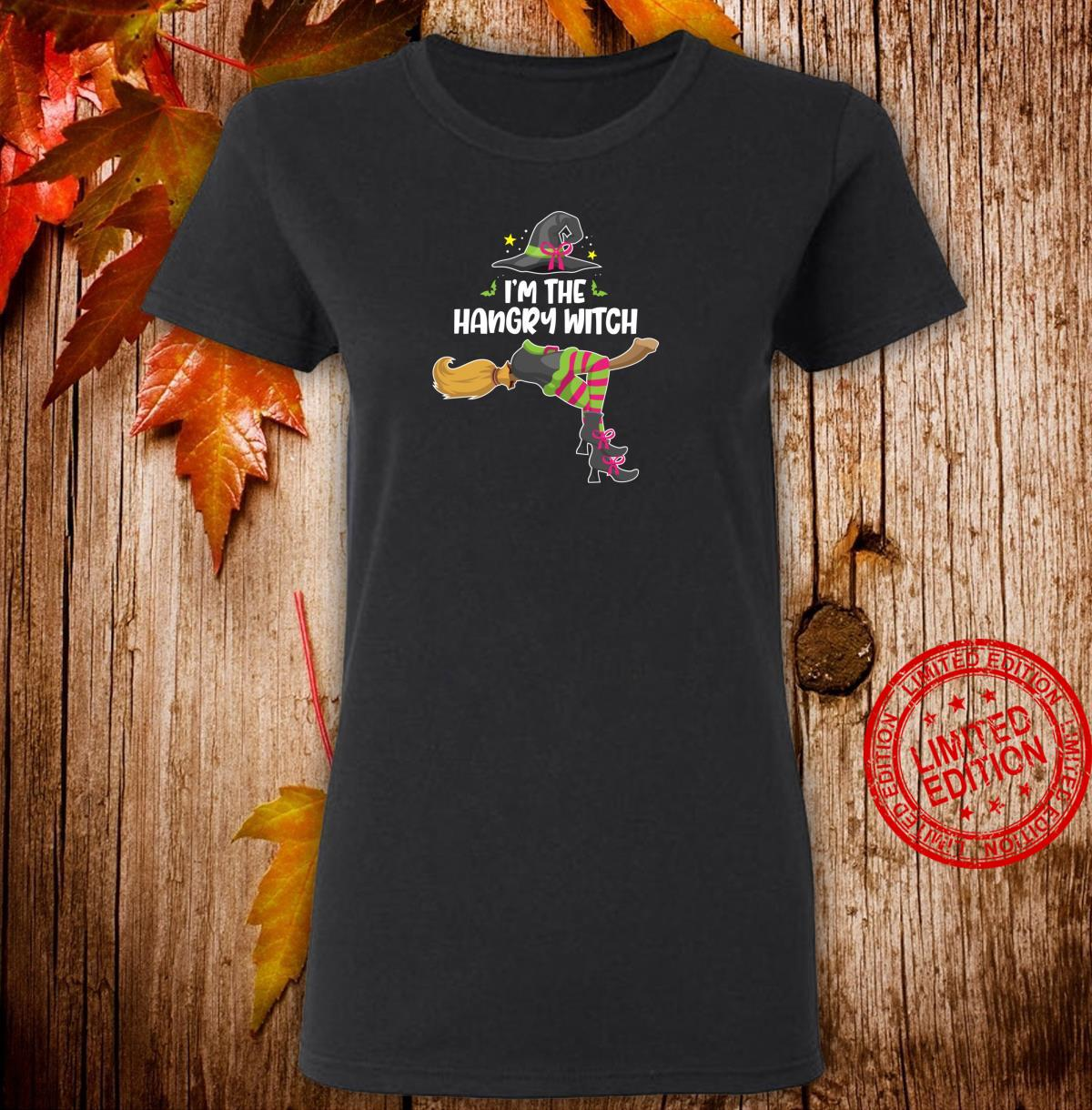 I'm the Hangry Witch Halloween Matching Group Costume Shirt ladies tee