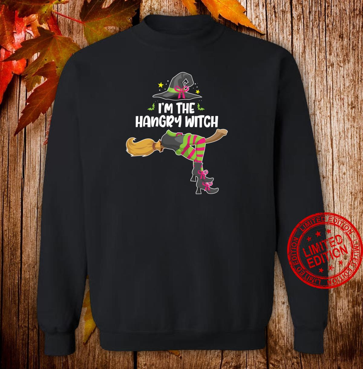 I'm the Hangry Witch Halloween Matching Group Costume Shirt sweater