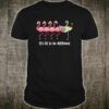 It's OK To Be Different Flamingo Quilting Shirt Quilter Shirt