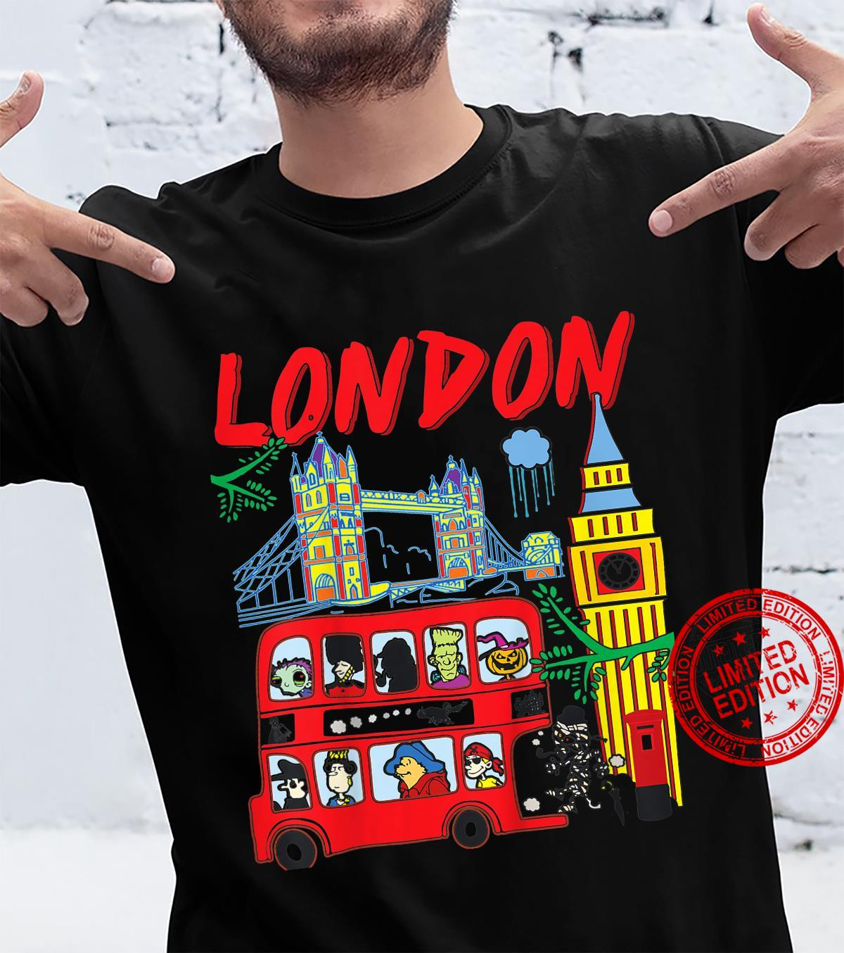 Kids US London London Cartoons 01 Shirt