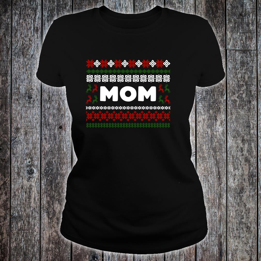 Knitted Matching Design for Mom Set for the entire family Shirt ladies tee