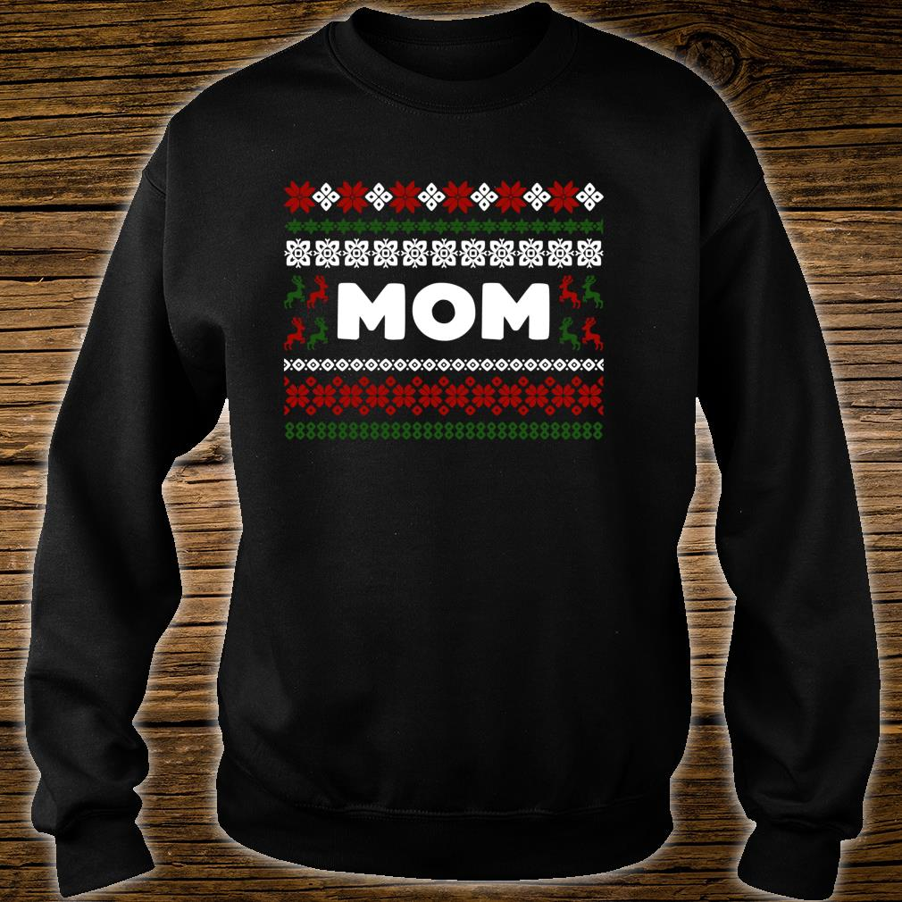 Knitted Matching Design for Mom Set for the entire family Shirt sweater