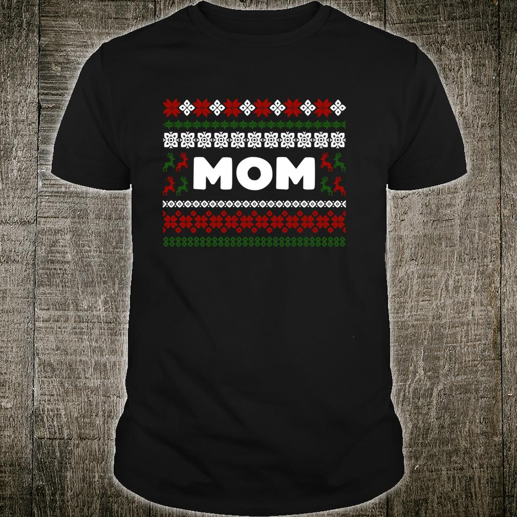 Knitted Matching Design for Mom Set for the entire family Shirt