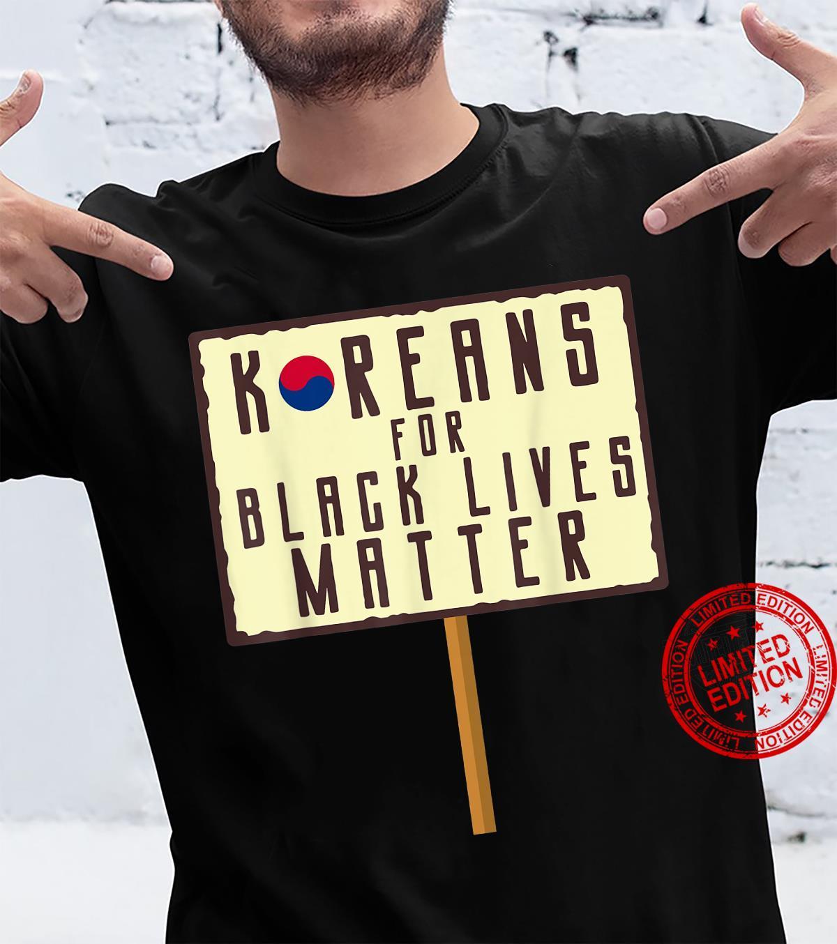 Koreans For Black Lives Matter Shirt