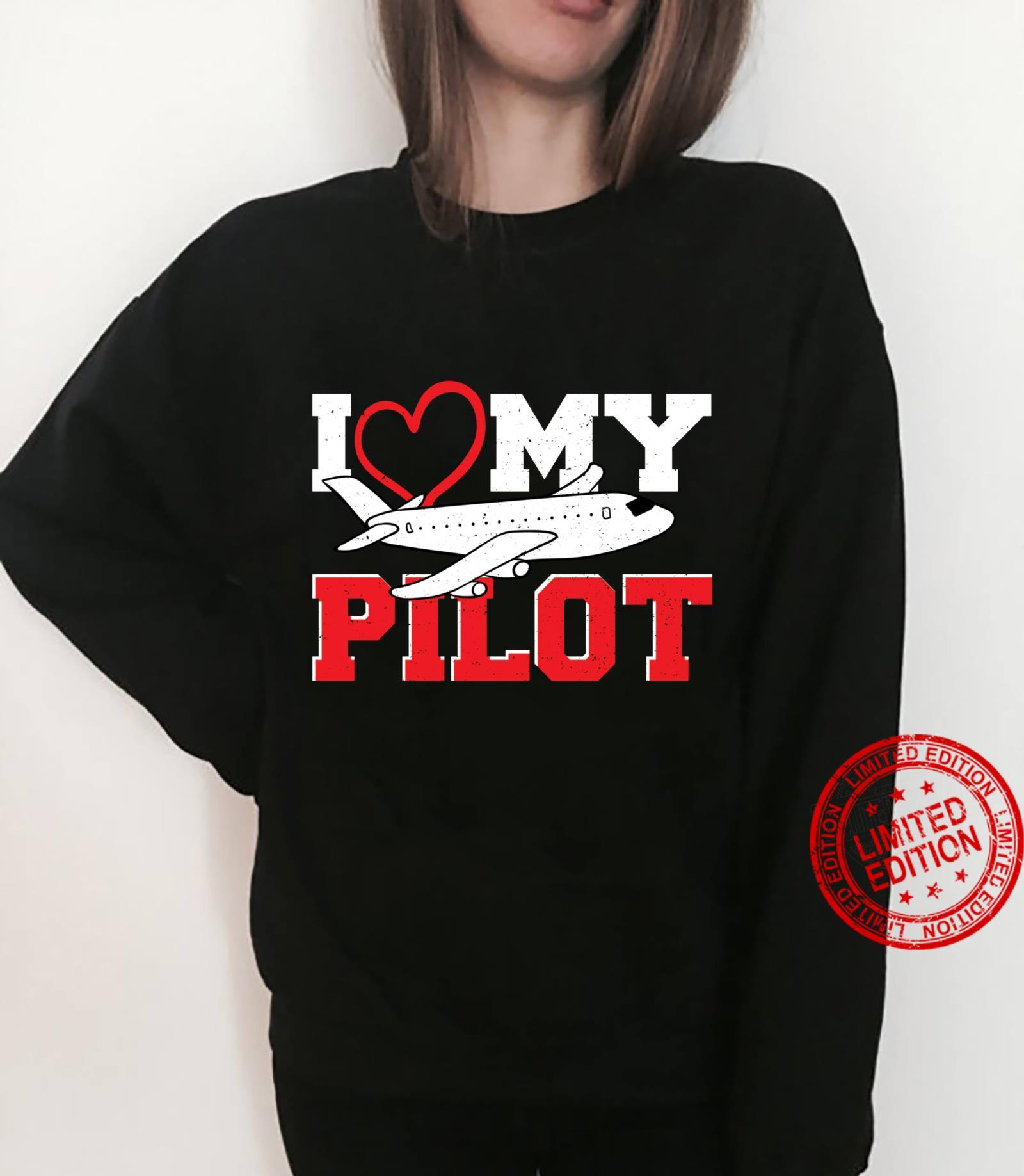 Love I Love My Pilot Pilot Shirt sweater