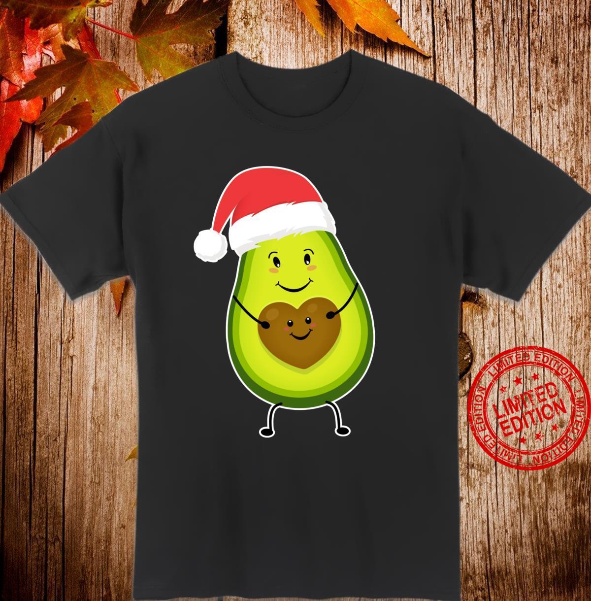Mamacado Christmas Cute Avocado For Pregnant Mothers Day Shirt