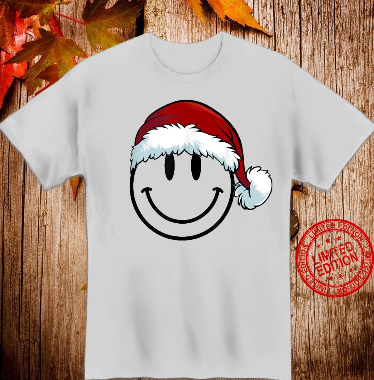Mens Christmas Smiley Shirt