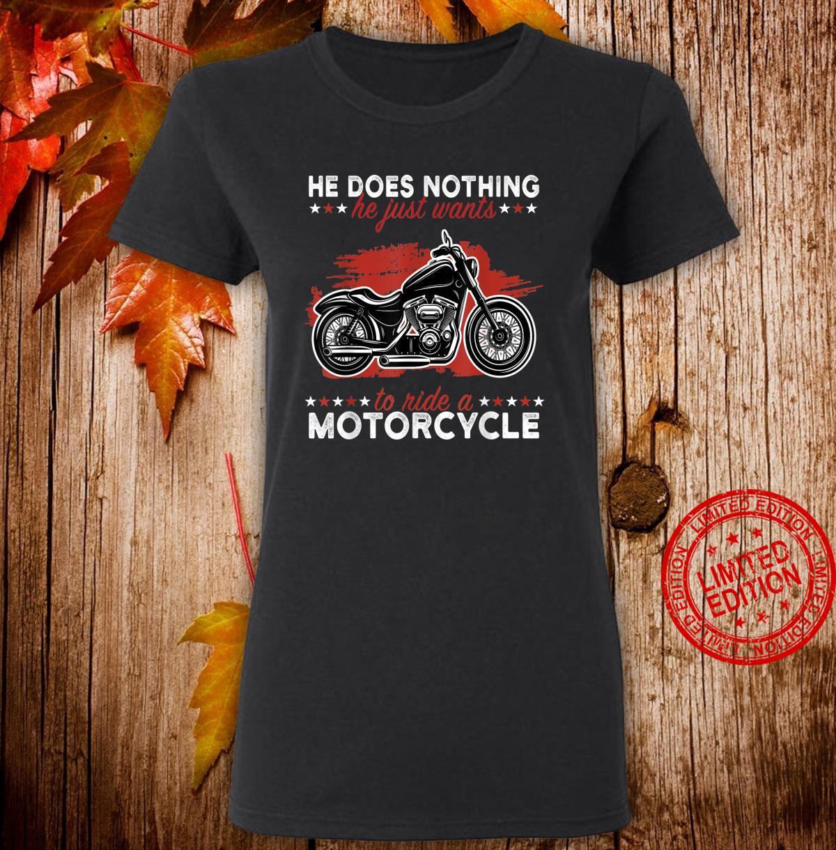 Mens motorbike motorcyclist bike biker sayings Shirt ladies tee