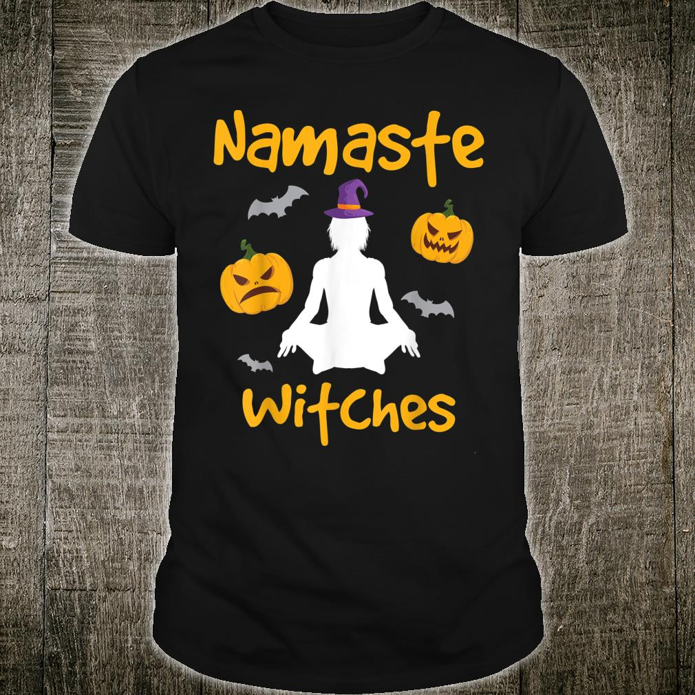 Namaste Witches Halloween Yoga Apparel Shirt
