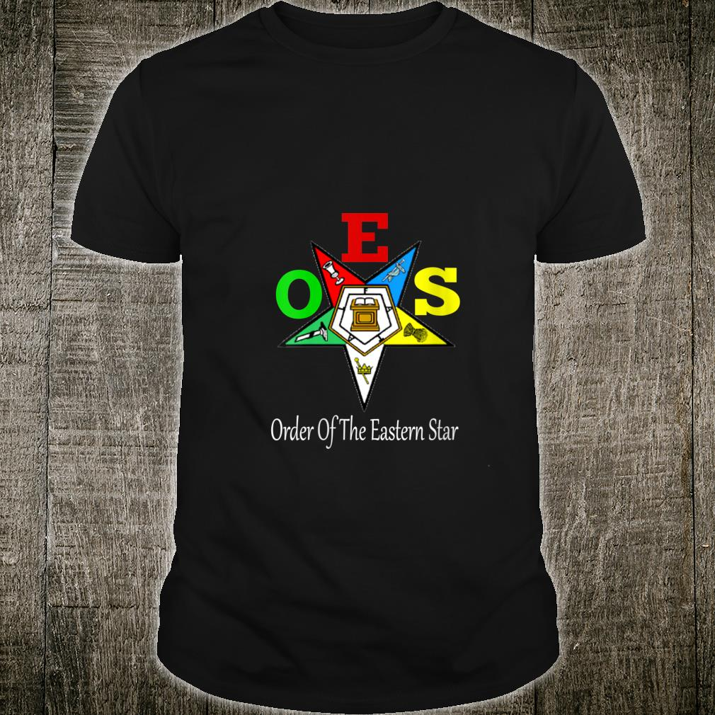 OES Order of the Eastern Star Logo Symbol Shirt