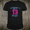 Official nager 13 Years Old 13th birthday Boys Girl Shirt