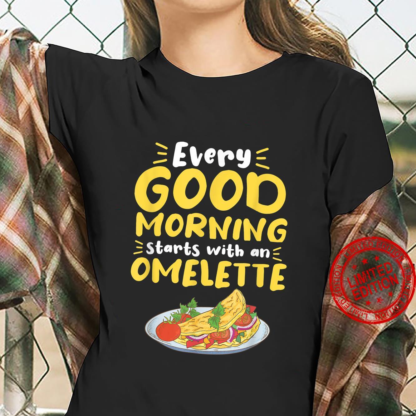 Omelette Breakfast Egg Eggs Morning Food Omelettes Brunch Shirt ladies tee