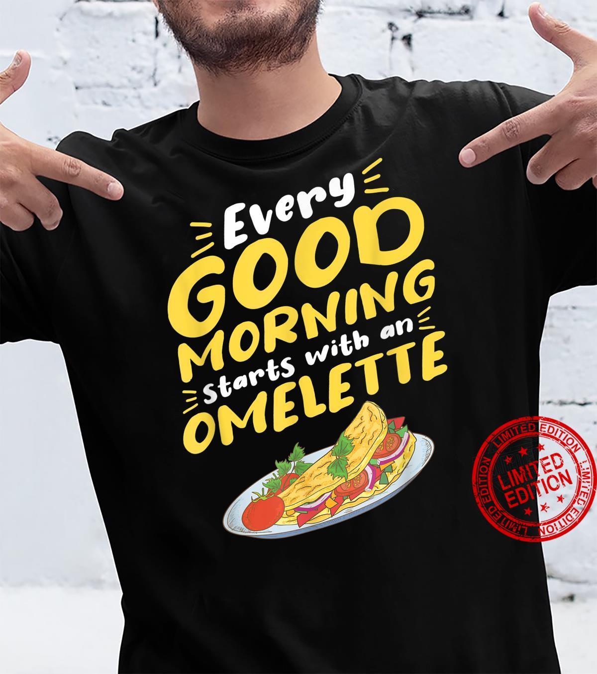 Omelette Breakfast Egg Eggs Morning Food Omelettes Brunch Shirt