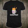 Orange Cat Coffee Mug, Cat Coffee Pun Shirt