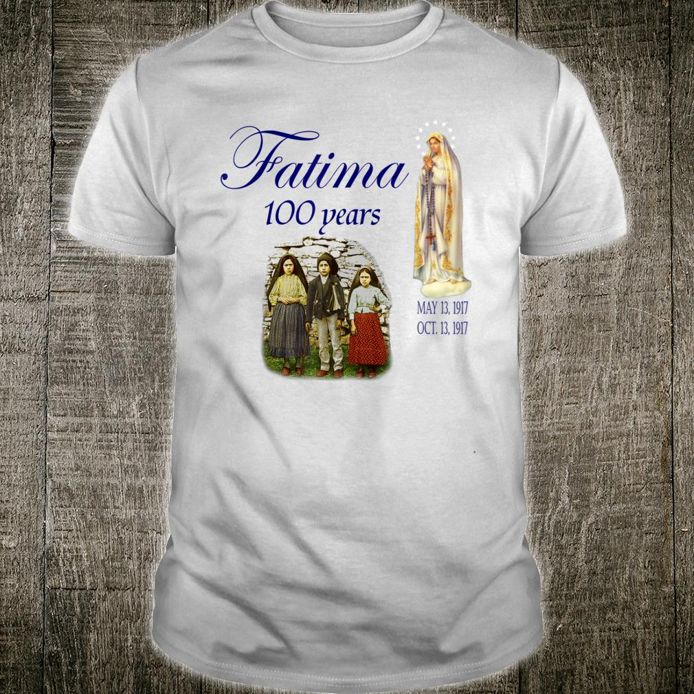 Our Lady of Fatima Anniversary Virgin Mary Shirt