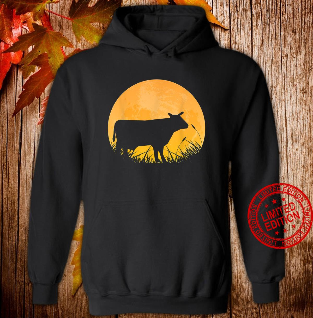 Ox Easy Halloween Outfit Cattle Oxen Moon Costume Shirt hoodie