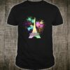 Paris Eiffel Tower Rainbow Paint Splats Shirt
