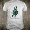 Peace Love Music Music Note and Heart Shirt