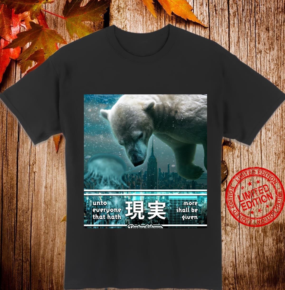 Polar bear and the city Shirt