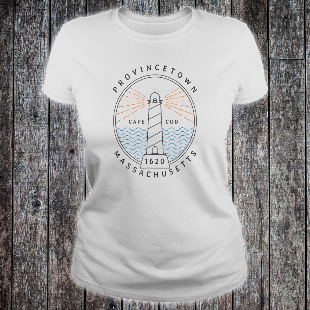 Provincetown Cape Cod MA Lighthouse Shirt ladies tee