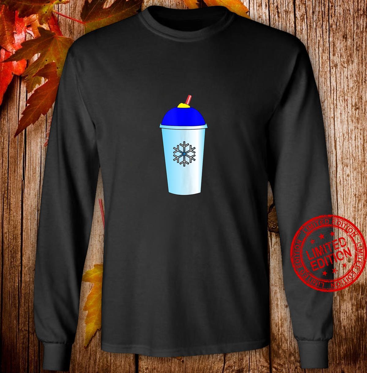 Slushy Frozen Ice Drink Shirt long sleeved