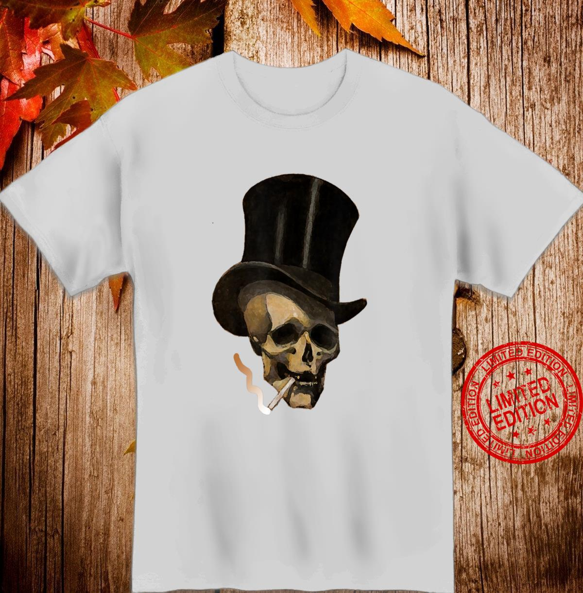 Sull with Hat Smoking Shirt