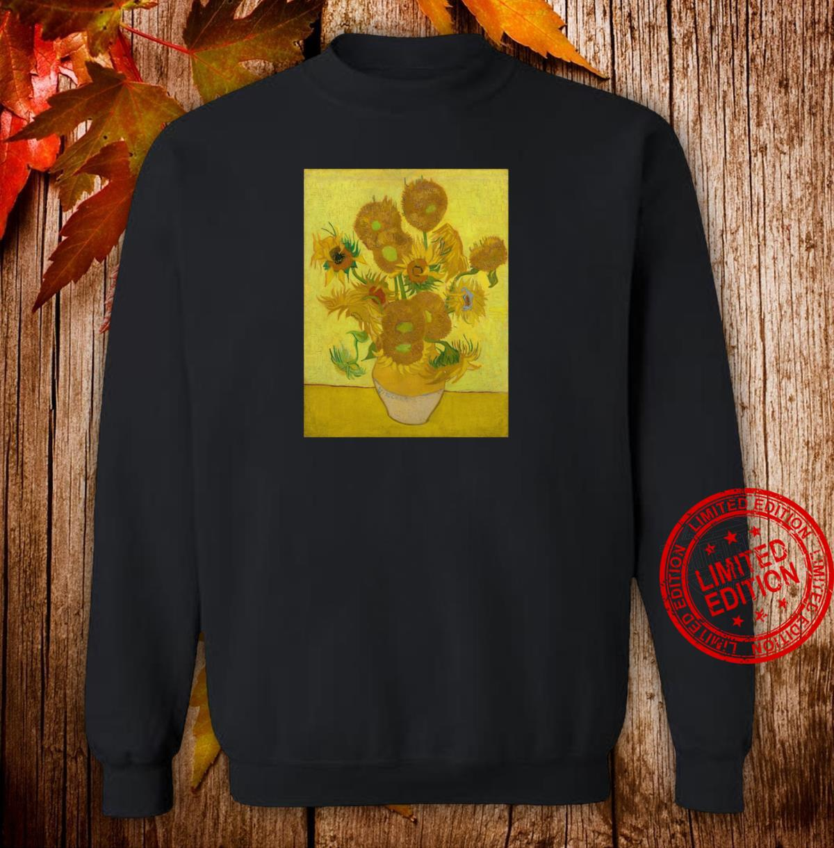 Sunflowers by Vincent Van Gogh Shirt sweater