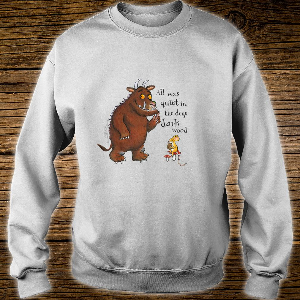 The Gruffalo 'All was quiet' Shirt sweater