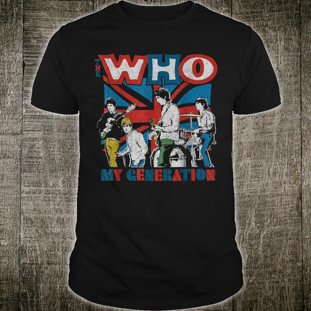 The Who Official My Generation Vintage Shirt
