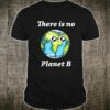 There Is No Planet B Earth Day Retro Camping Shirt