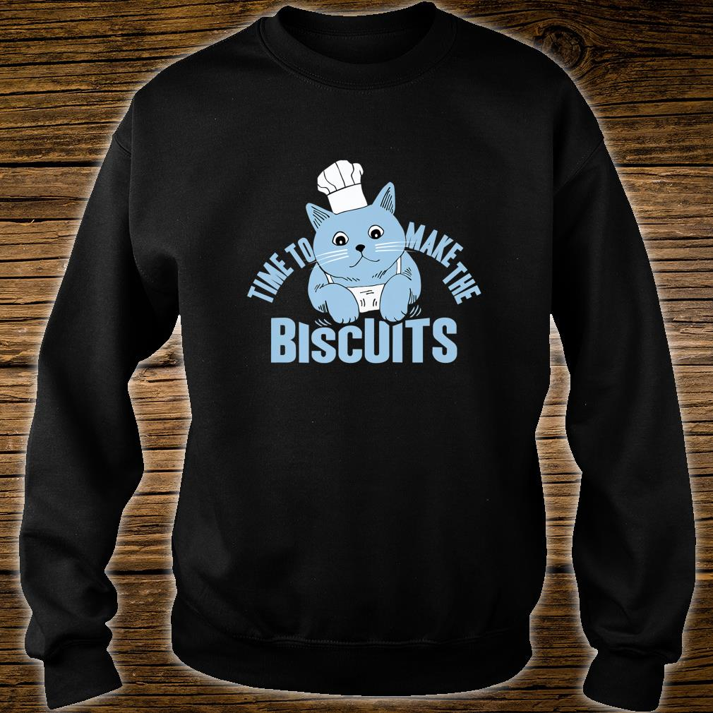 Time To Make The Biscuits, Christmas, Cat, X-mas Shirt sweater