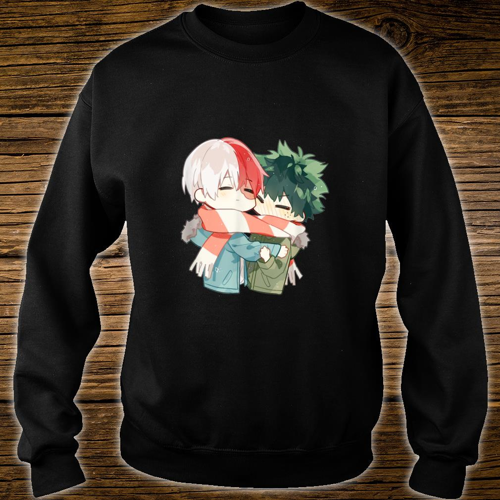 Todoroki and Midoriyas Chibi Couple Shirt sweater
