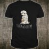 Trick Or Sleep! Funny Lazy Kawaii Sloth Halloween Pun Shirt