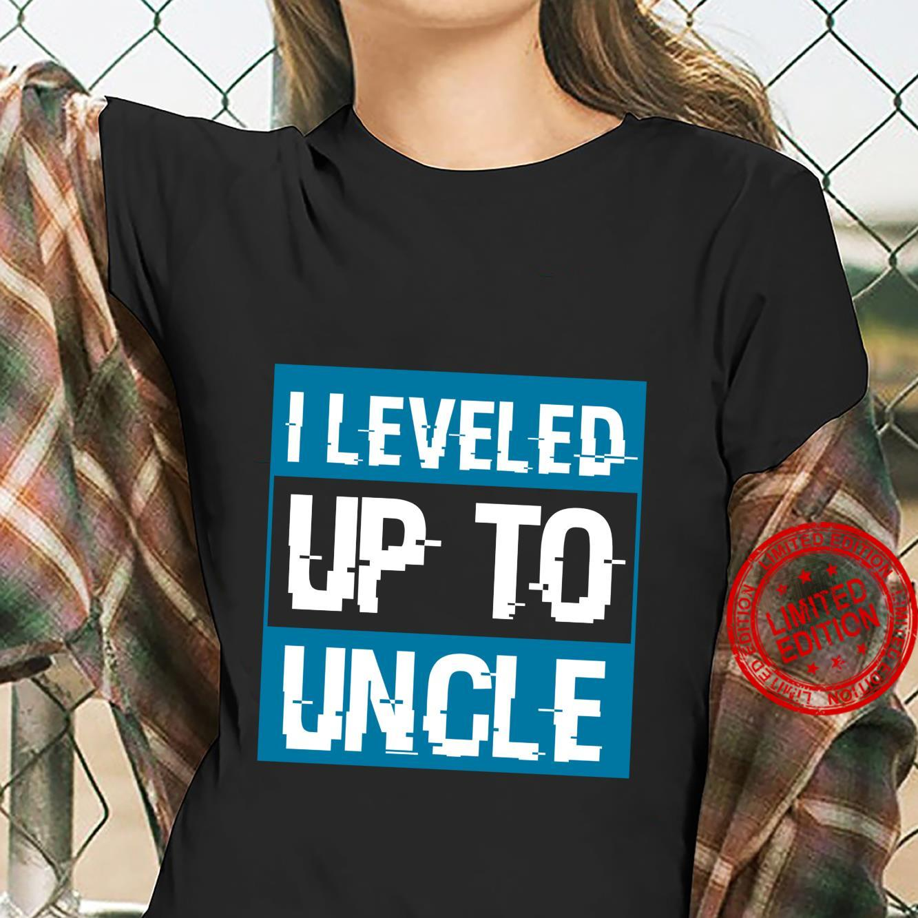 Video Game Uncle To Be Pregnancy Announcement Shirt ladies tee