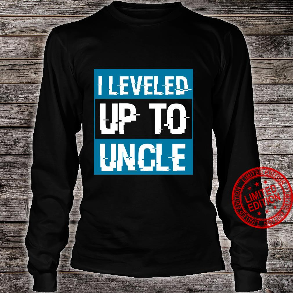 Video Game Uncle To Be Pregnancy Announcement Shirt long sleeved